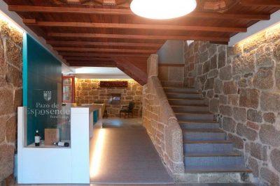 diseño recepcion hotel Ourense Galicia